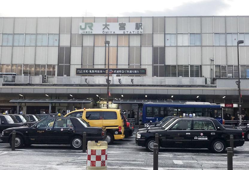 大宮駅_バス停、タクシー乗り場など