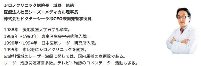 シロノクリニック総院長_城野親徳