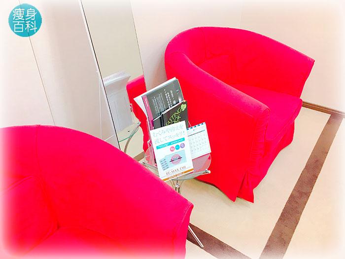キレイサローネ体験-椅子