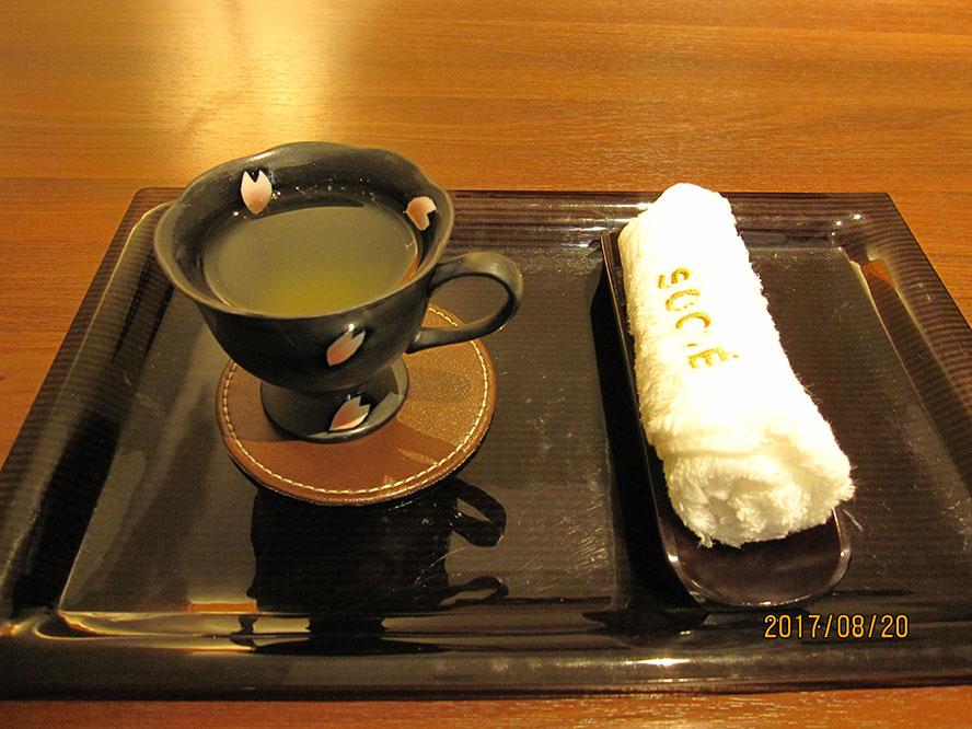 ソシエ体験-お茶