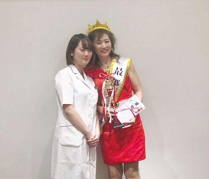 最優秀賞は大阪店の藤田陽子さん