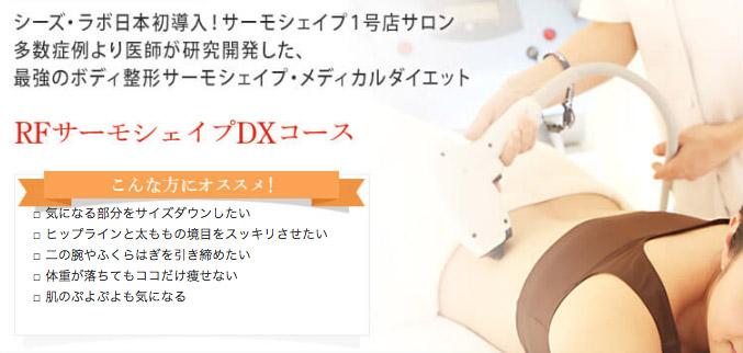 RFサーモシェイプDXコース