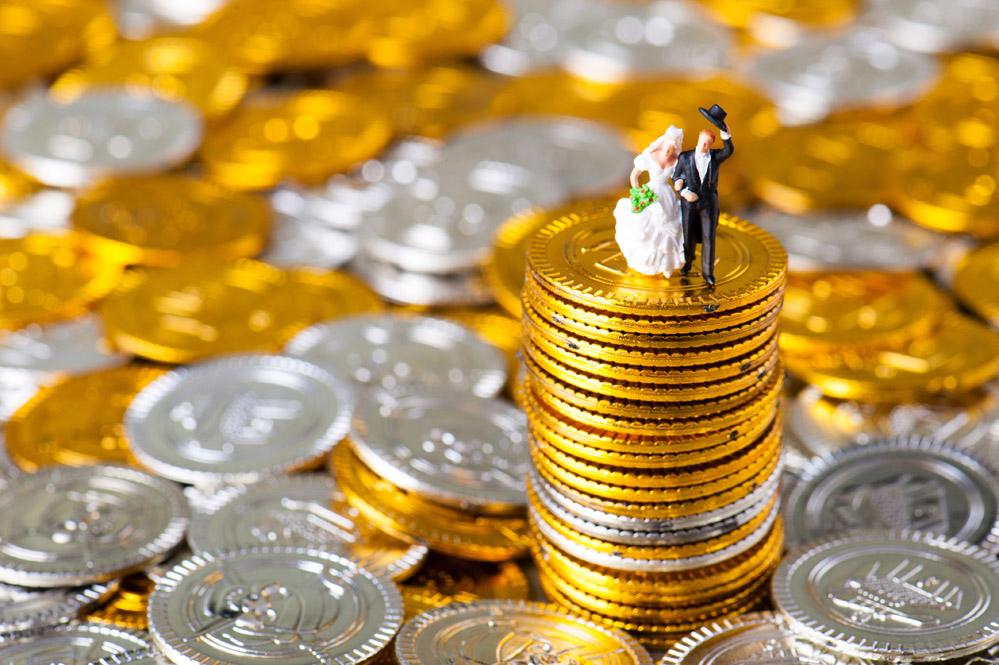 お金持ちの夫婦